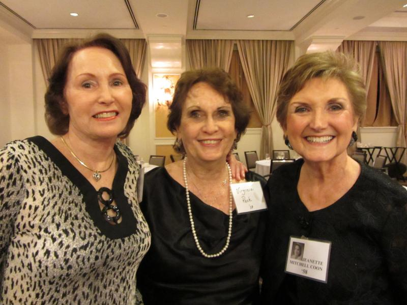 Janet Mosley Stocker, Virginia Peck Borden & Jeanette