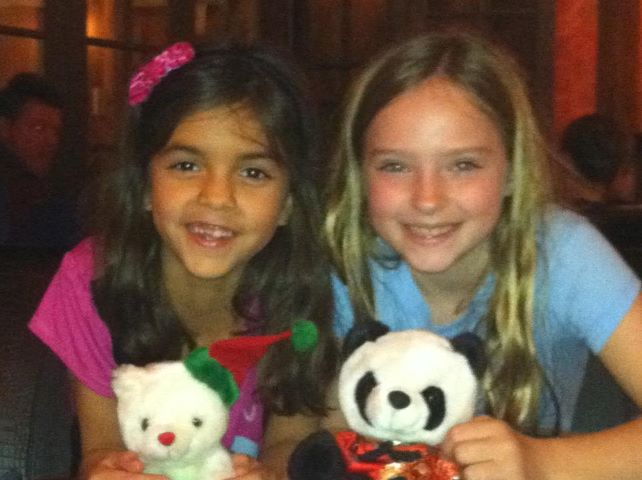 Jenna & Allison - Christmas 2011